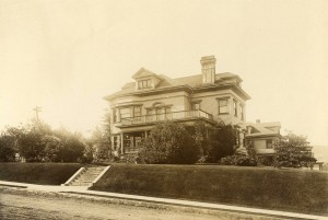 1920's Picture of the Captain George Conrad Flavel Home