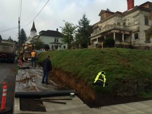 flavel 102015 sidewalk trench